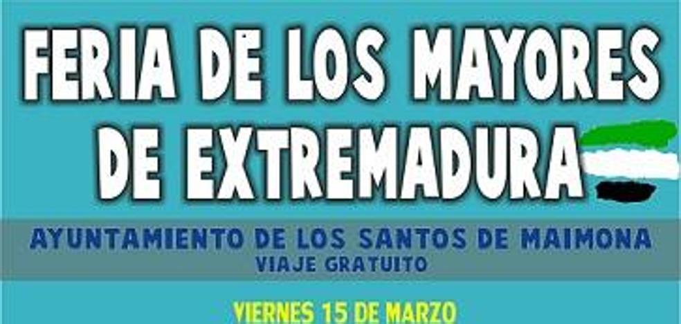 El Ayuntamiento ofrece viaje gratuito para asistir a la Feria de los Mayores de Badajoz