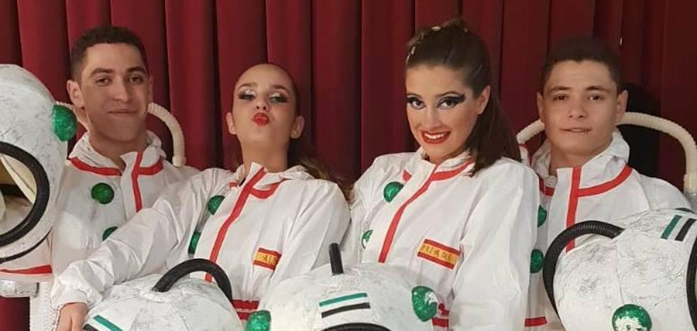 Crhistian López y su pareja, primeros de Europa en baile combinado y salsa en Fuengirola