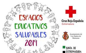 Cruz Roja ofrece un campamento de Semana Santa en Valencia de Alcántara, enmarcado en el programa de espacios educativos saludables