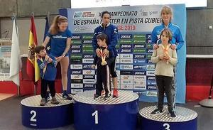 Laura Randos bronce en el 1500 del Campeonato de España Máster