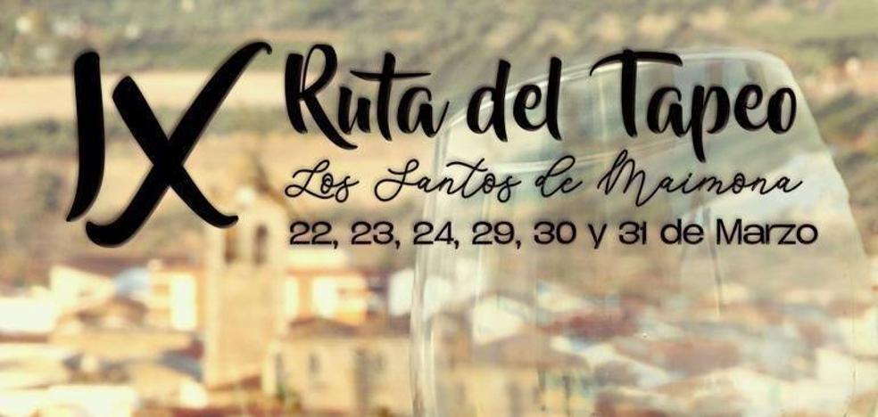 La Asociación de Hosteleros de Los Santos presenta esta noche la IX Ruta del Tapeo