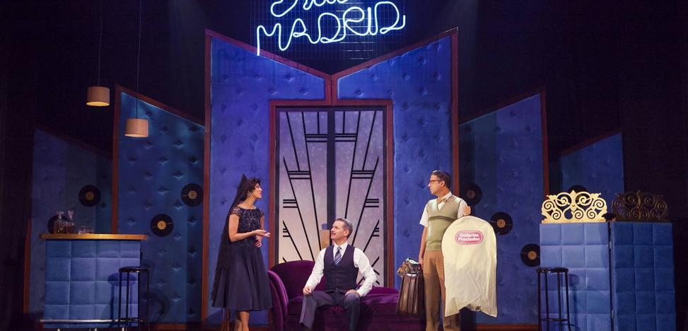 El musical 'mi última noche con Sara' este sábado en el Monumental