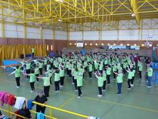 El verde invade el VI Maratón de Aerobic santeño