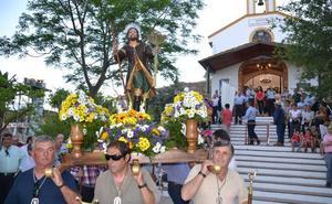 Con la procesión de San Isidro comienza una romería que se espera calurosa