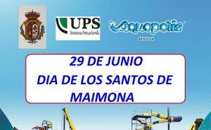 El 29 de junio, día de Los Santos en 'Aquópolis' de Sevilla', se organiza un viaje al parque acuático