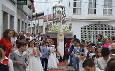Brillante, solemne y alegre procesión del Corpus