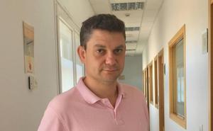 En el Centro Diego Hidalgo de Empresas e Innovación (CEI)… Alberto Calvo