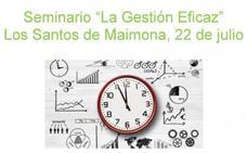 Extremadura Avante organiza un seminario en Los Santos para empresarios, sobre gestión eficaz