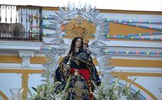 La Virgen de la Estrella inundó de emociones las calles del pueblo