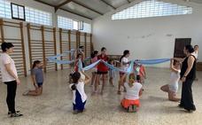 El Grupo Infantil de Bailes Regionales La Estrella estrenará una jota creada para recibir a la Virgen de la Estrella