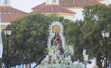 Esta tarde la Virgen de la Estrella volverá a su santuario rodeada de miles de fieles