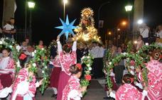 La jota que bailó ante la Virgen el grupo La Estrella, fue compuesta por músicos santeños en 2008