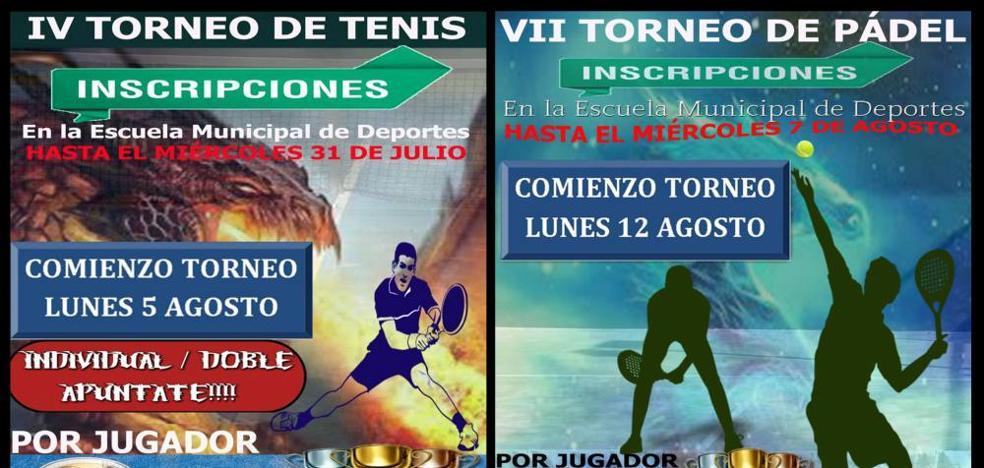 El pasado lunes ha comenzado el Torneo de Tenis