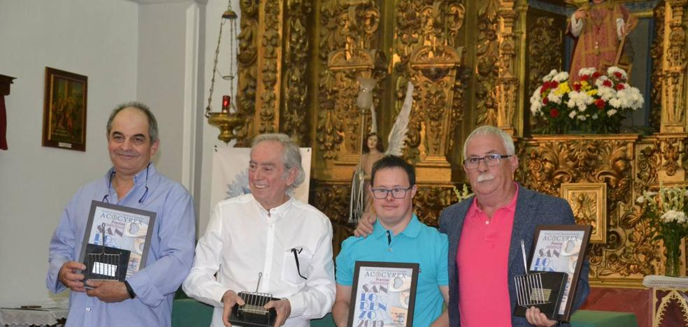 Los cocineros Alejandro Jalones y Fernando Bárcenas y el repostero Jacinto García recogen el Premio San Lorenzo 2019