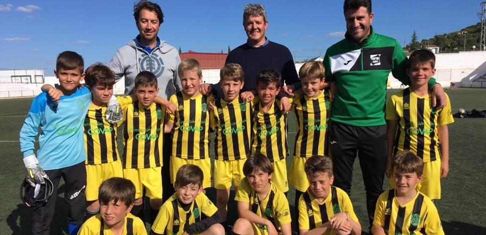 El equipo benjamín del fútbol Club Obi´s jugará en la Primera División Extremeña