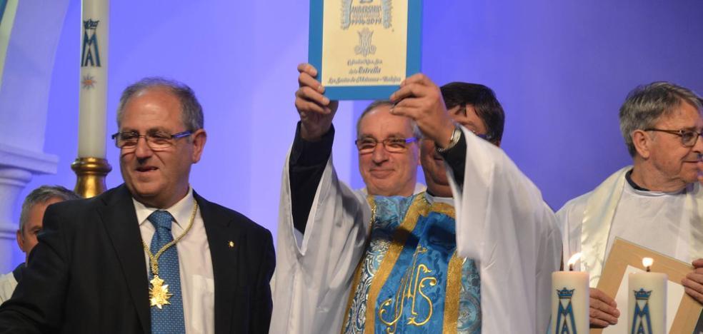 La Cofradía de la Estrella, premio 'Los Santos Excelente' por la organización del 25º aniversario de la coronación