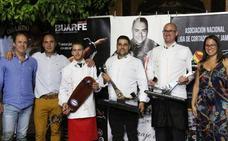 Antonio Escribano gana el IV Concurso Nacional de Cortadores de Jamón `Trofeo Excelentísimo Ayuntamiento de Los Santos de Maimona´