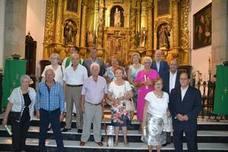 Una veintena de parejas celebraron sus bodas de oro y plata en la Parroquia