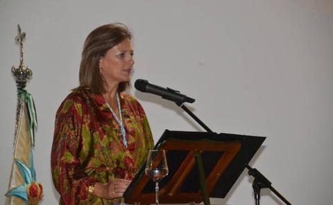 Estrella Montaño:«En Los Santos tenemos la estrella más bella, mas dulce, más grande... La Virgen de la Estrella»