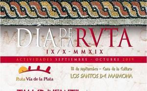El día de la Vía de la Plata se celebra con un taller de escudos romanos