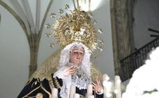 Este viernes comienza el triduo a la Virgen de los Dolores y al Cristo de las Misericordias