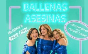 El 11 de octubre en el Monumental «Ballenas Asesinas», una comedia escrita, dirigida e interpretada María Casal