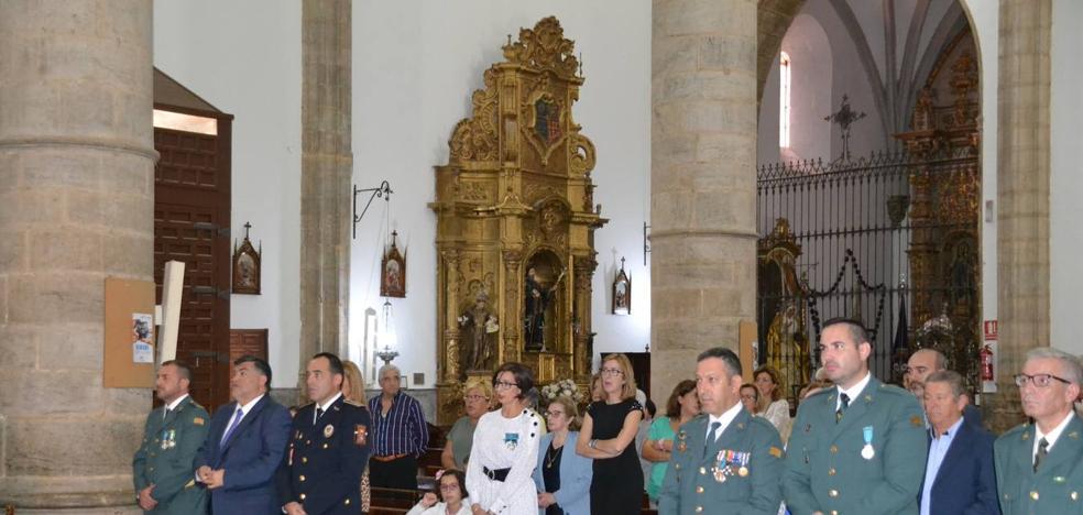 La Guardía Civil de Los Santos no ha celebrado este año el día de la Patrona