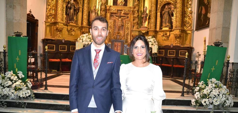 El ex futbolista de la 'Yeyi' Víctor Matamoros se ha casado con María Estrella Fernández Luna