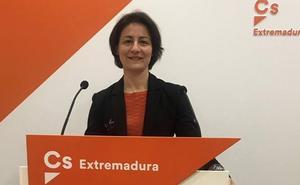 Mari Carmen Matos repite como número 2 al Senado en Badajoz por Ciudadanos