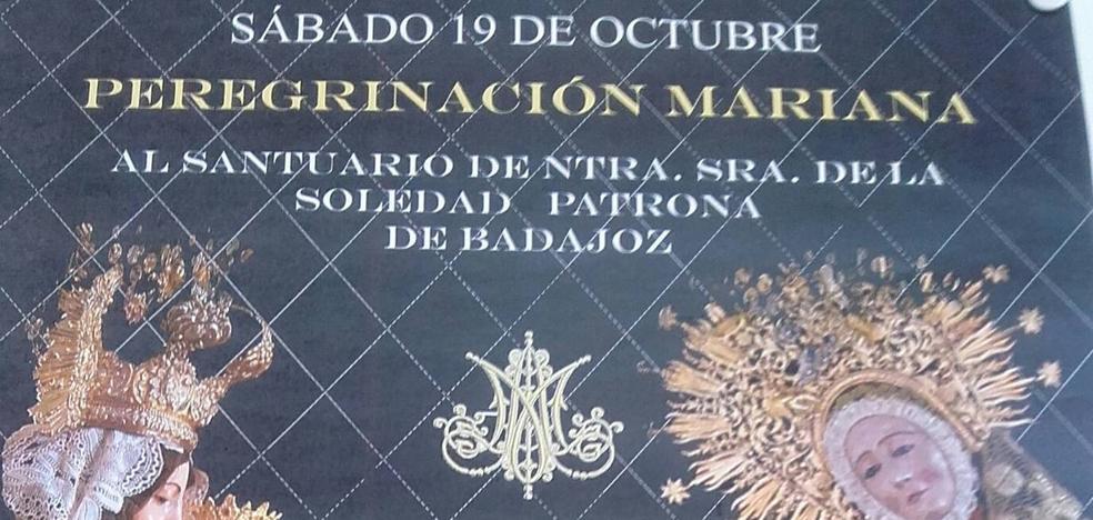 Aún quedan plazas para la peregrinación al Santuario de la Virgen de la Soledad en Badajoz