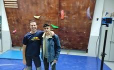 Chiqui Morenas fue el primer entrenador de escalada del actual campeón olímpico Alberto Ginés