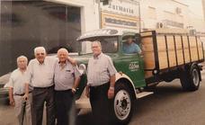 El sector del transporte por carreteras nació en Los Santos a la sombra de la fábrica de Asland