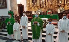 Cálida despedida de José Antonio Sequeda como vicario parroquial