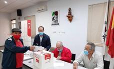 Los socialistas santeños participan en las primarias para elegir al Secretario Provincial en Badajoz