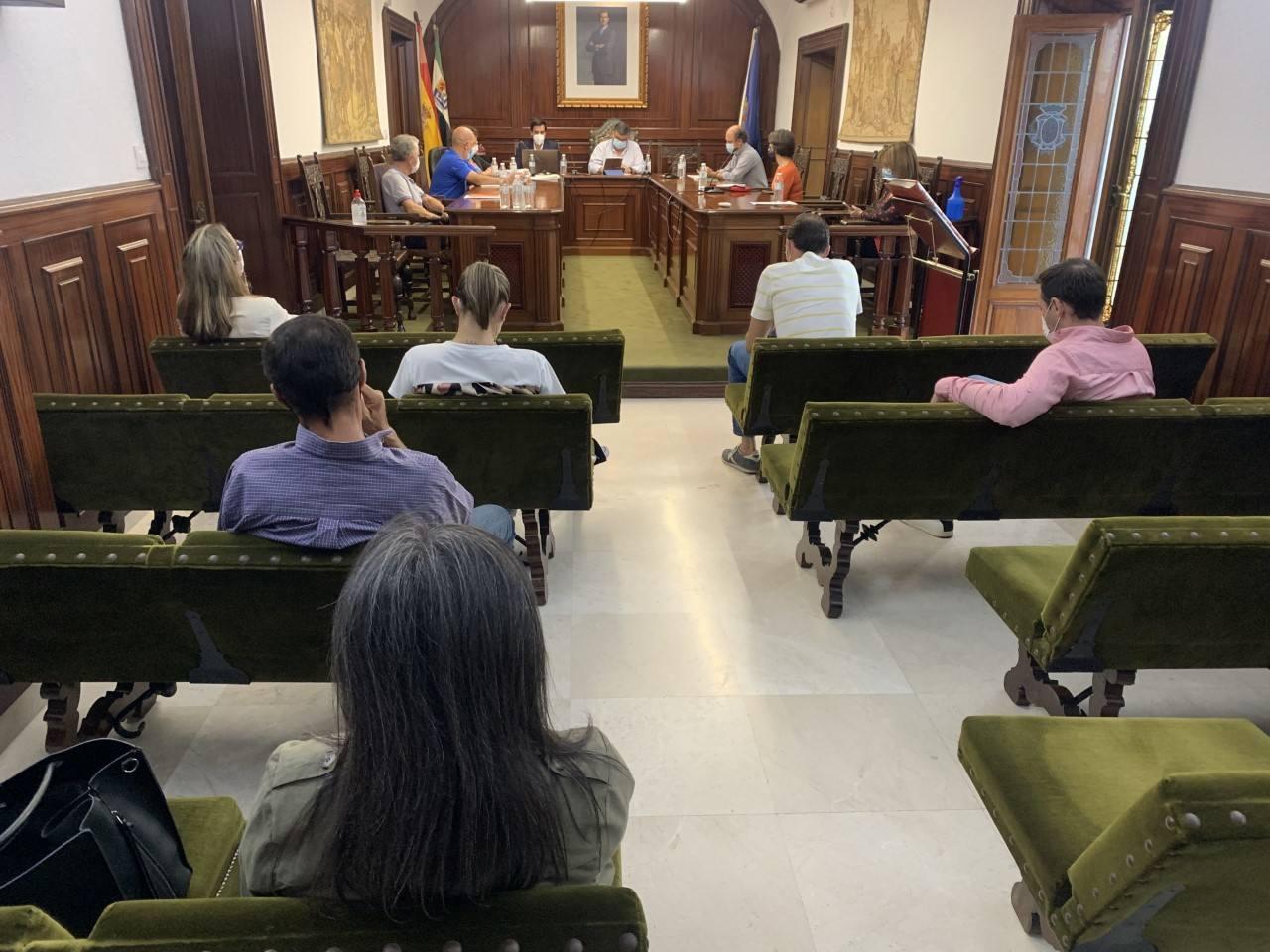 El Ayuntamiento solicitará a la Delegación del Gobierno ayudas por daños de las lluvias torrenciales