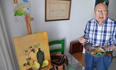 Manuel Muñoz Leal autor de pinturas en el Sagrario de la Parroquia y San Lorenzo