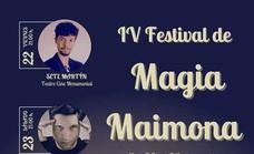 La cuarta edición del Festival de Magia Maimona se celebrará con Jorge Luengo, Sete Martín y Jórdiman