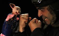 'Cuentos para niños perversos ', un espectáculo de teatro de títeres, en la Sala Guirigai