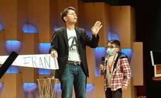 Jorge Luengo, un grande con su magia de ensueño que impactó en el público