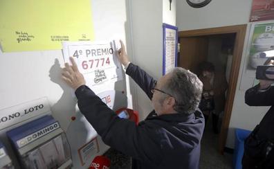 Un décimo del 67774 lleva 20.000 euros a Arroyo de la Luz