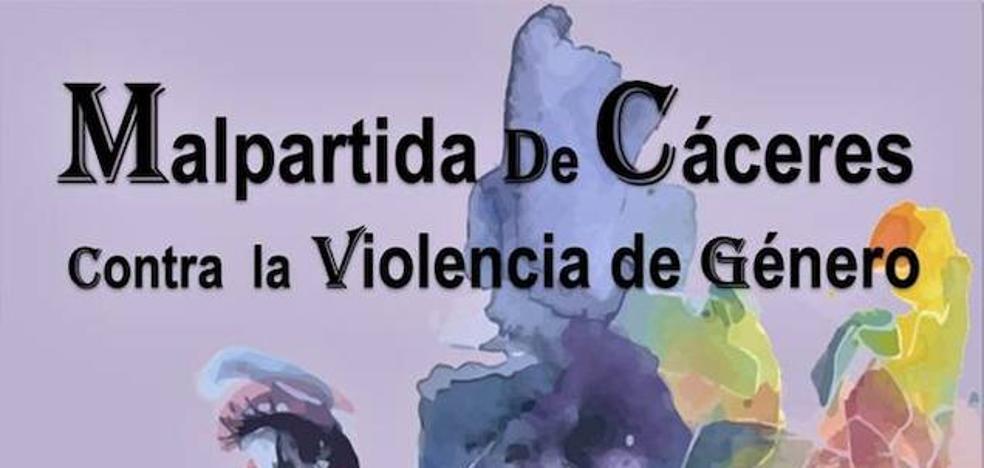 Malpartida de Cáceres contra la violencia de género
