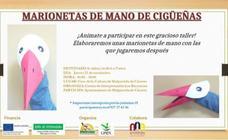 Taller de marionetas de mano en Malpartida de Cáceres