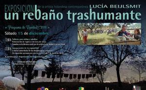 'Un rebaño Trashumante' llega al Centro de Vías Pecuarias de Malpartida de Cáceres