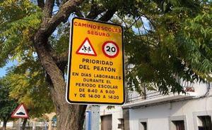 Malpartida contará a partir del próximo lunes con el 'Camino Escolar Seguro' para favorecer los trayectos a pie del alumnado