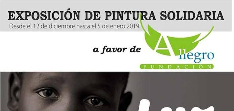 Dos socios de la asociación malpartideña Imagynarte inauguran una exposición solidaria el próximo miércoles