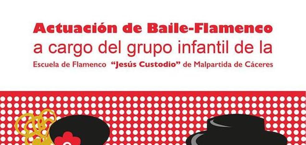 Los alumnos de la Escuela de Flamenco 'Jesús Custodio' actuarán el próximo viernes en la Casa de Cultura
