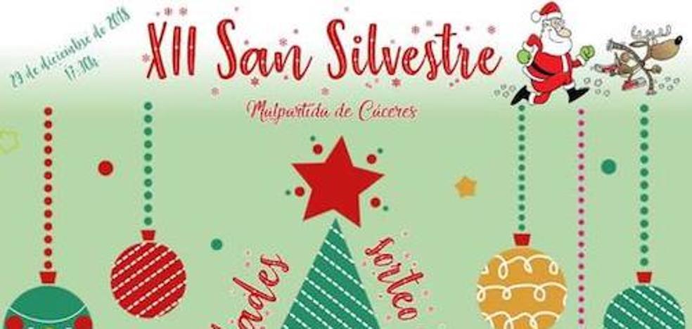 El 29 de diciembre se celebrará la XII San Silvestre de Malpartida de Cáceres