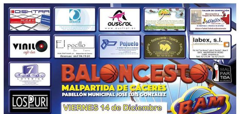 Fin de semana de baloncesto en el Pabellón Municipal José Luís González