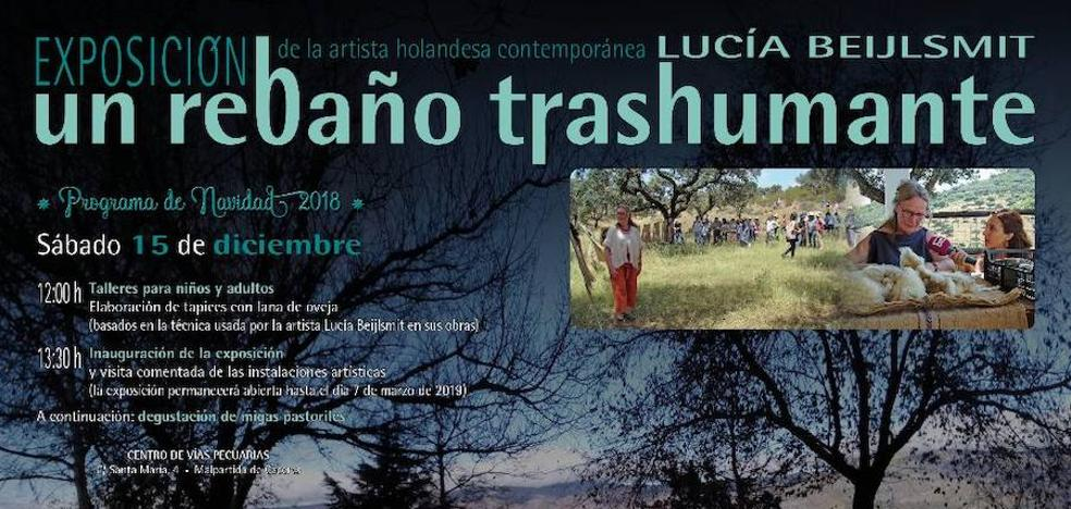 Mañana sábado se inaugurará la exposición 'Un rebaño trashumante', de Lucía Beijlsmit