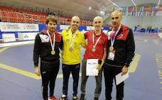 El Maestro Teo consiguió hacerse con la plata en el Campeonato de Europa categoría Máster
